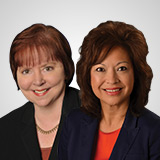 Susan Howarth, President & CEO, WEDU | Ernestine Morgan, CFRE, President & CEO, Morton Plant Mease Health Care Foundation